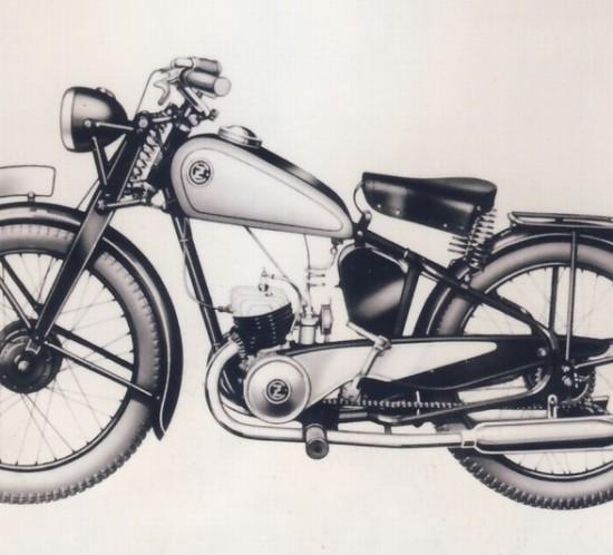 motorka ČZ 125A